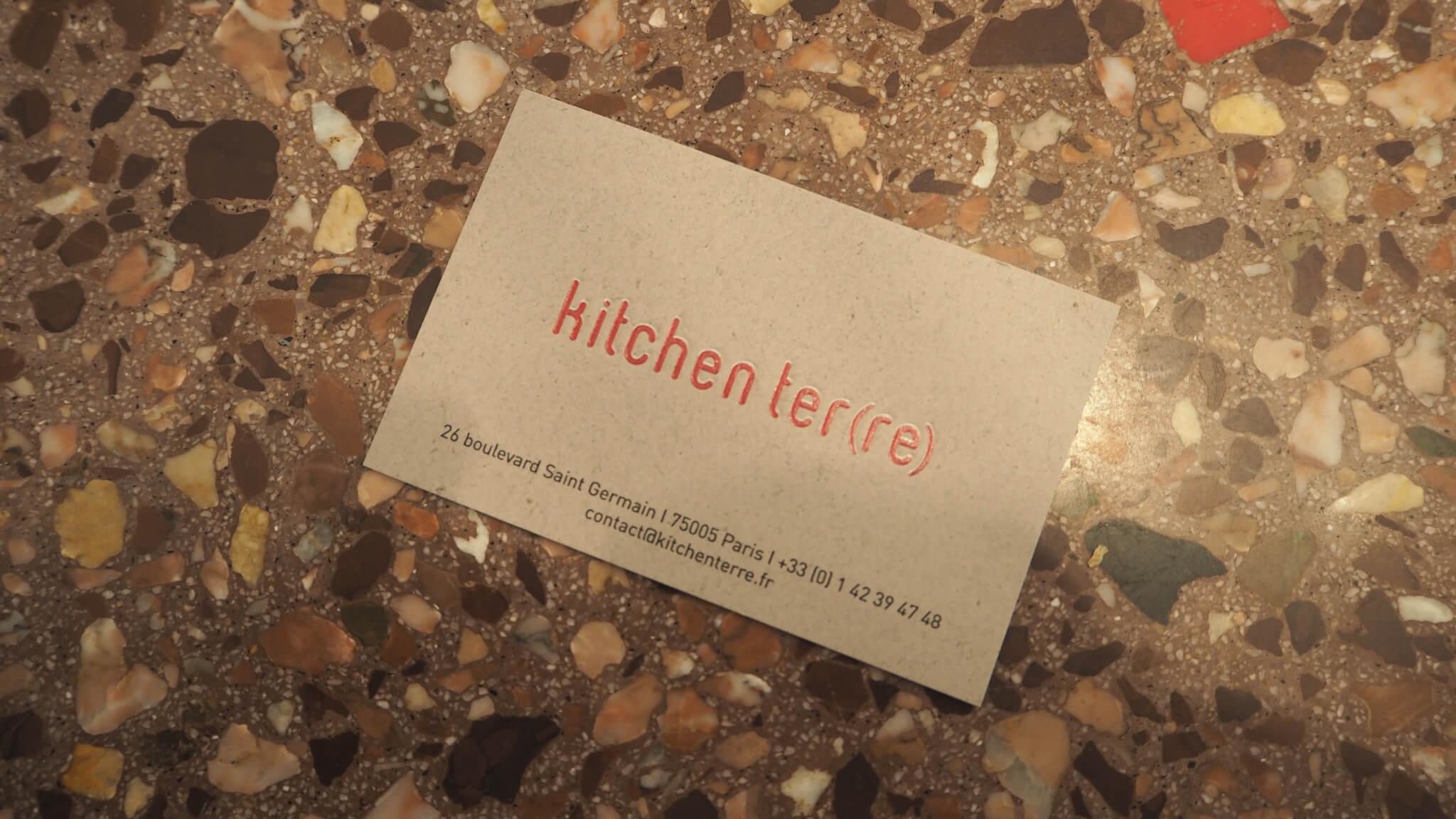 Restaurant Kitchen Ter(re) Paris 5ème