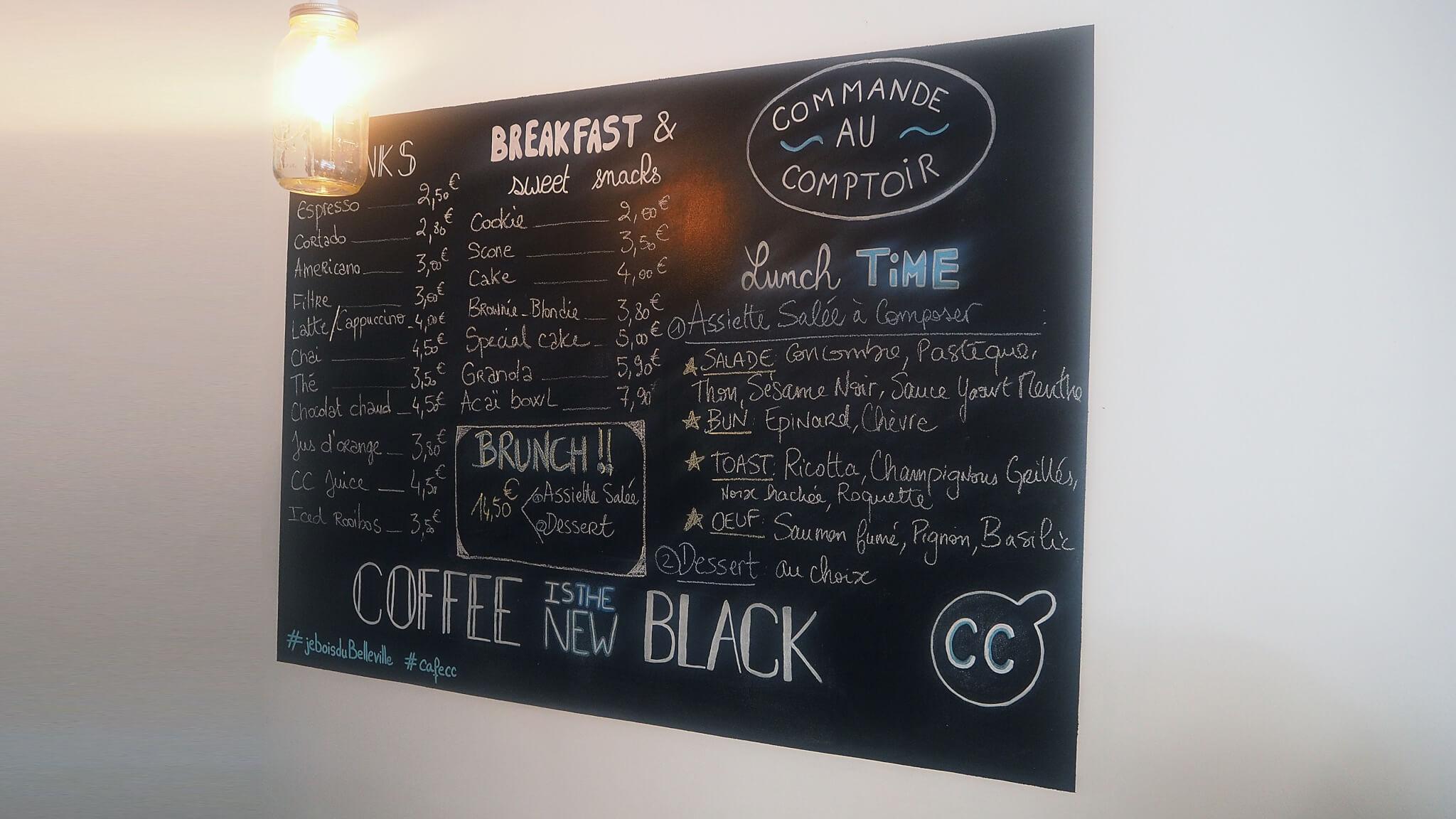 Café CC Paris 12ème