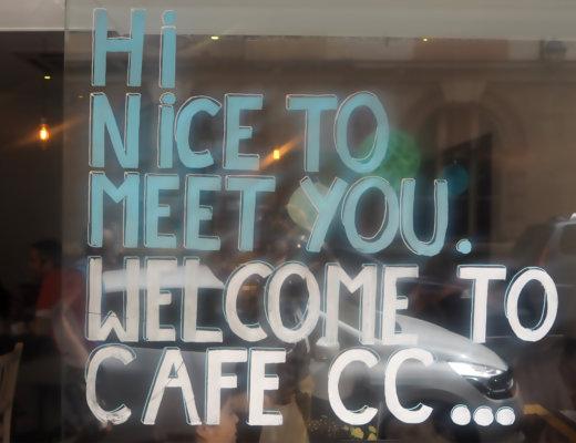Salon de thé Café CC Paris 12ème