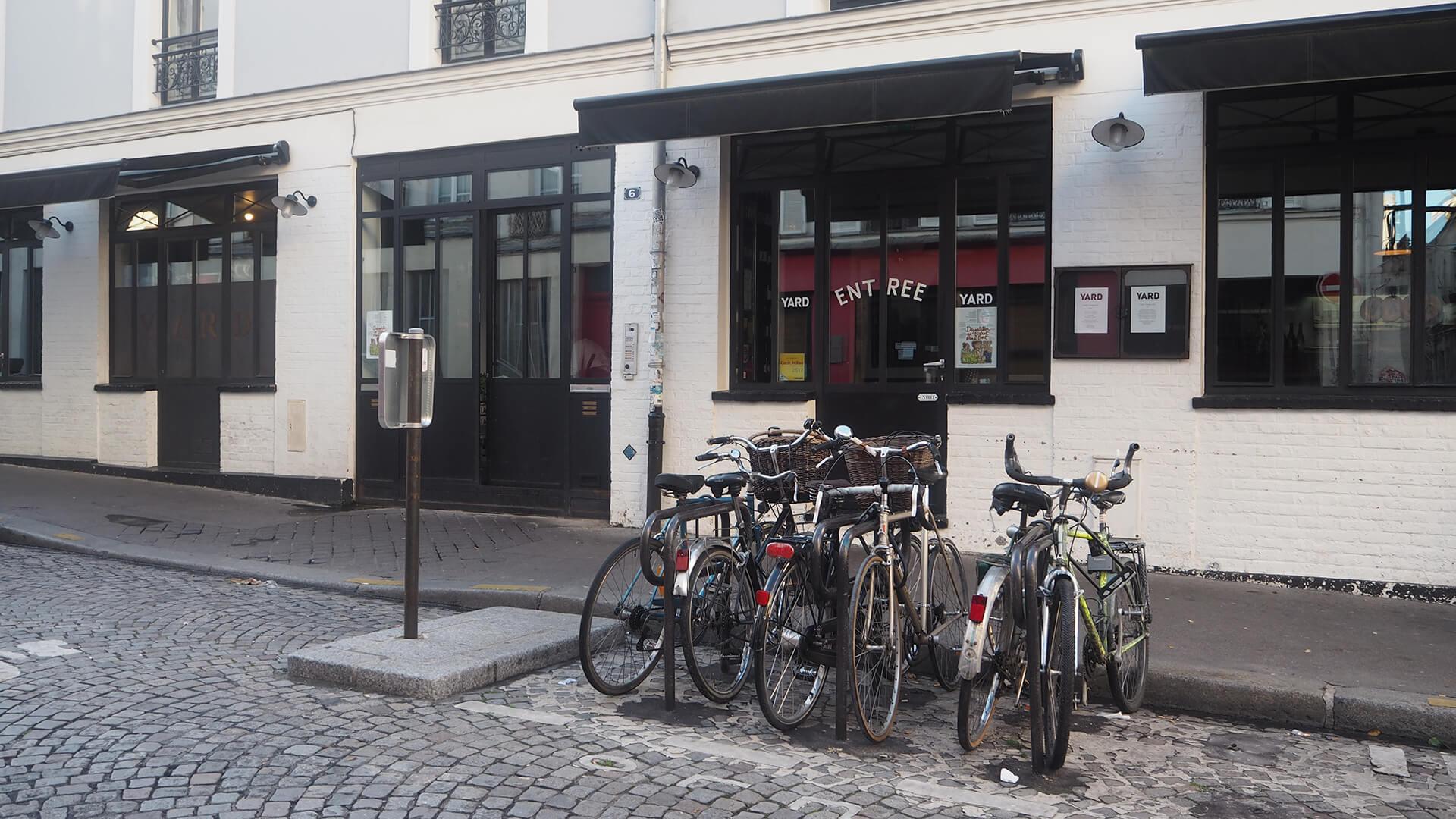 Restaurant Yard Paris 11ème
