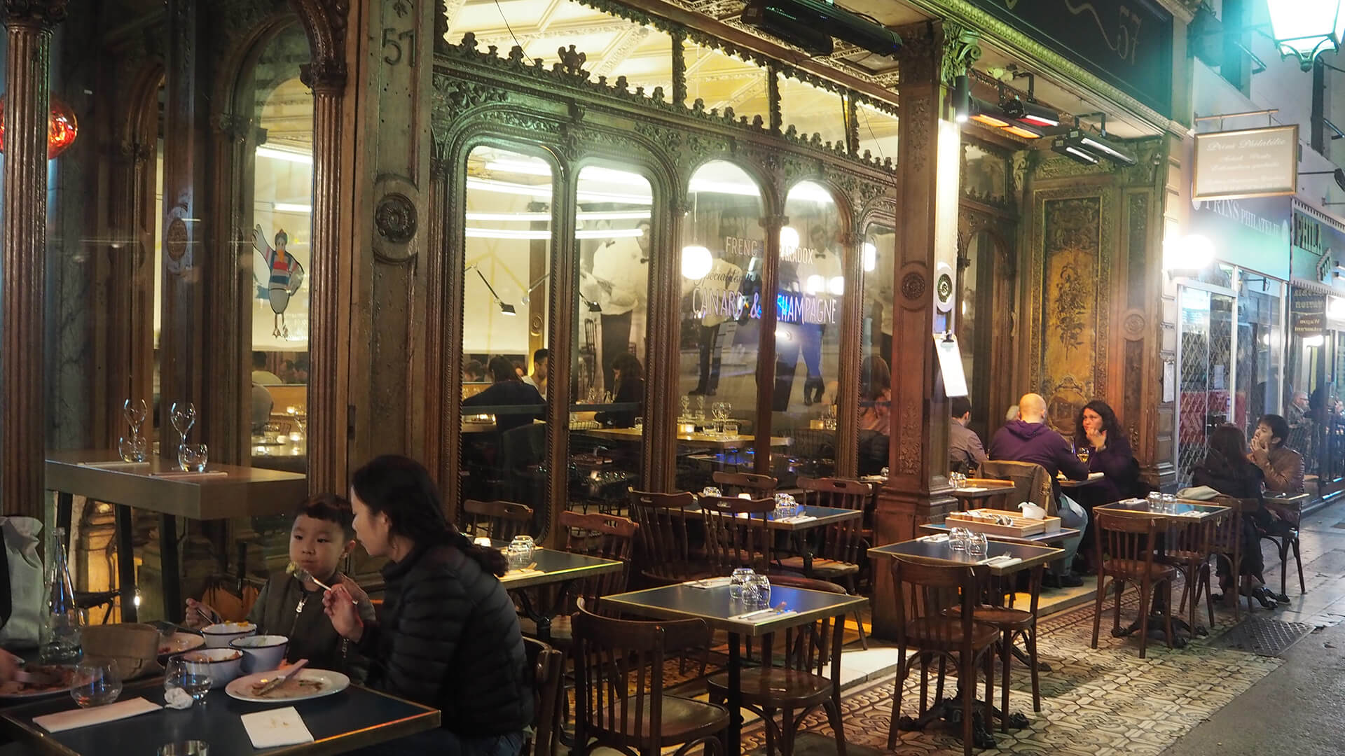 Restaurant Canard et Champagne 75002