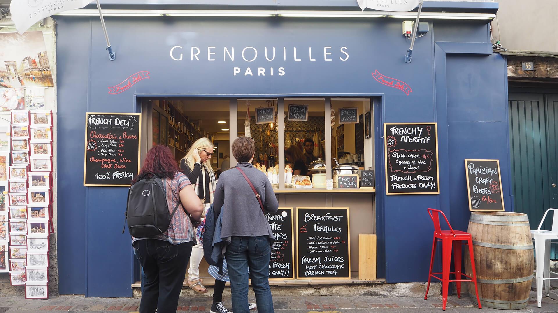 Restaurant Grenouille Paris 75018